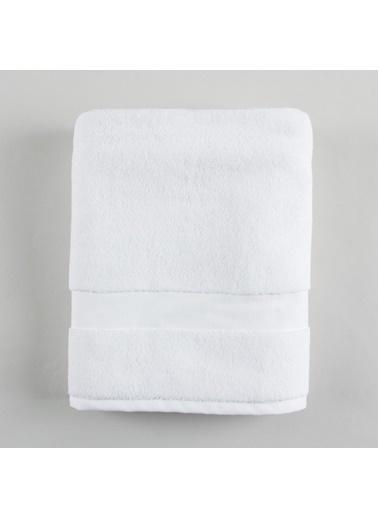 Basics By Chakra Alucıa Havlu 70*140 Beyaz Beyaz